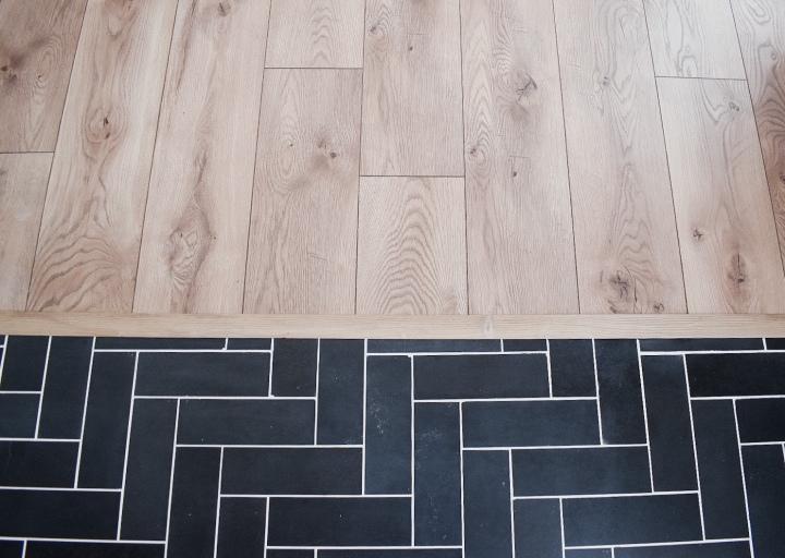 Foyer Floor Installation