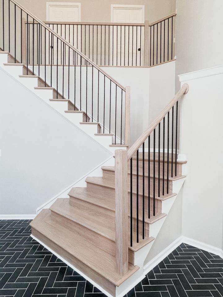 Stair Railing Installation